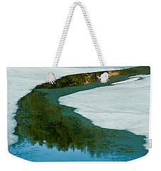 Ice Borders Weekender Tote Bag