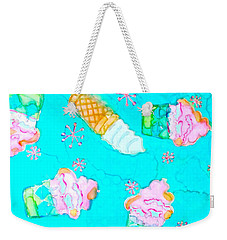 Ice Cream I Scream Weekender Tote Bag