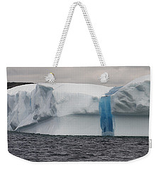 Weekender Tote Bag featuring the photograph Iceberg by Eunice Gibb