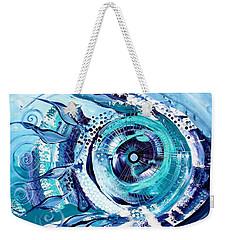 Icehole Fish Weekender Tote Bag
