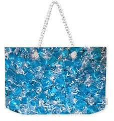 Ice Blues Weekender Tote Bag by Beth Saffer