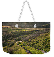 Icy Track Weekender Tote Bag by Clare Bambers