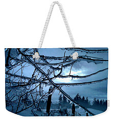 Weekender Tote Bag featuring the photograph Illumination by Rory Sagner