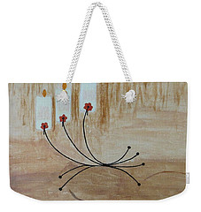 Weekender Tote Bag featuring the painting Illumination by Sonali Gangane