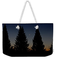 Weekender Tote Bag featuring the photograph Impending Sunrise by Penny Meyers
