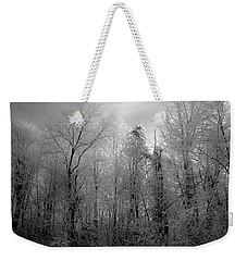 Impressionist Snow Weekender Tote Bag