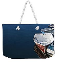 In A Row Weekender Tote Bag