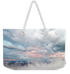 In The Clouds Weekender Tote Bag by Jeannette Hunt
