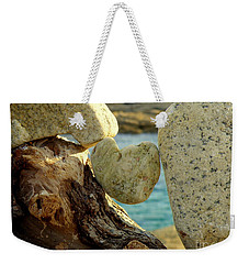 In The Heart Of Things Weekender Tote Bag by Lainie Wrightson