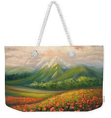 In The Poppy Field Weekender Tote Bag