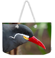 Weekender Tote Bag featuring the photograph Inca Tern by Julia Wilcox