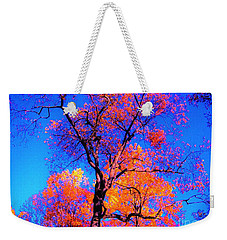 Indian Summer Autumn Scene  Weekender Tote Bag