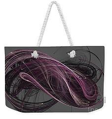 Weekender Tote Bag featuring the digital art Infinity by Kim Sy Ok