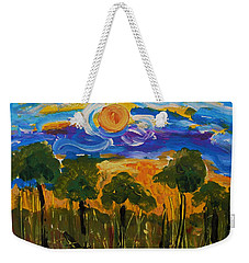 Intense Sky And Landscape Weekender Tote Bag