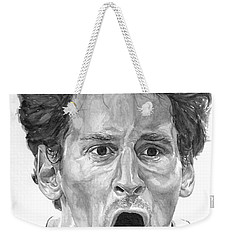 Intensity Lionel Messi Weekender Tote Bag by Tamir Barkan
