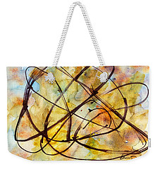 Inverno Abstract Watercolor Weekender Tote Bag
