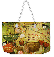 Irish Brown Bread Weekender Tote Bag