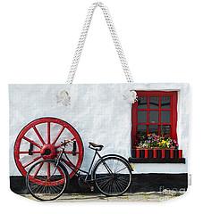 Irish Pub Weekender Tote Bag