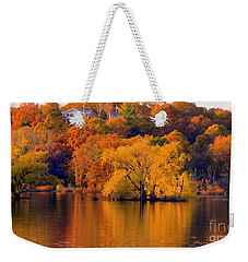 Island  In Fall Weekender Tote Bag