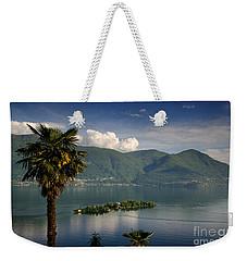 Islands On An Alpine Lake Weekender Tote Bag