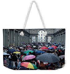 It Rains Weekender Tote Bag by Vivian Christopher