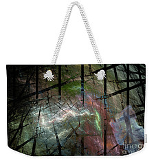 It Was A Ghostly Dark And Stormy Night Weekender Tote Bag