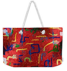 Italian Pillow Weekender Tote Bag by Alec Drake