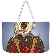 It's A Yorkie In A Bag  Weekender Tote Bag by Catia Cho