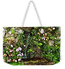 Japanese Water Feature Weekender Tote Bag