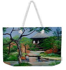 Jardin Japonais  Weekender Tote Bag