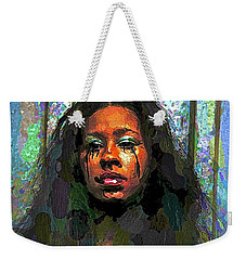 Weekender Tote Bag featuring the photograph Jemai by Alice Gipson