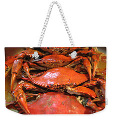 Crab Dinner Ocean Seafood  Weekender Tote Bag