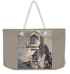 Weekender Tote Bag featuring the photograph Jesus Image by Rebecca Margraf