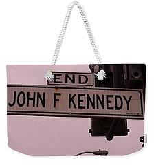 Jfk Street Weekender Tote Bag by Bill Owen