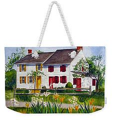 John Abbott House Weekender Tote Bag by Clara Sue Beym