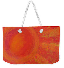 Joy In The Morning Weekender Tote Bag