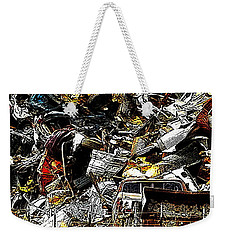 Weekender Tote Bag featuring the photograph Junky Treasure 2 by Lydia Holly