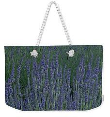 Just Lavender Weekender Tote Bag by Manuela Constantin
