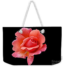 Weekender Tote Bag featuring the photograph Just Peachy by Cindy Manero
