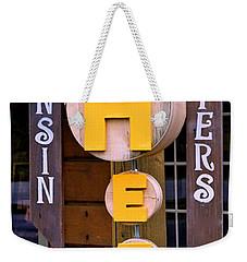 Just Say Cheese Weekender Tote Bag