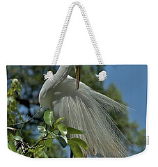 Weekender Tote Bag featuring the photograph Just So by Joseph Yarbrough