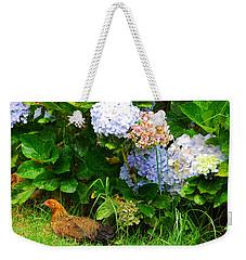 Weekender Tote Bag featuring the photograph Kauai Wildlife by Lynn Bauer