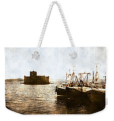 Kisimul Castle Scotland Weekender Tote Bag