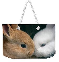Kissing Cousin's Weekender Tote Bag