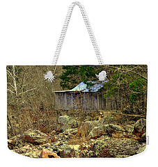 Weekender Tote Bag featuring the photograph Klepzig Mill by Marty Koch