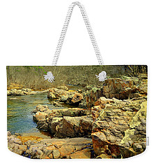 Weekender Tote Bag featuring the photograph Klepzig Shut In by Marty Koch