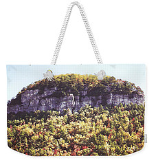 Knob Mountain Weekender Tote Bag