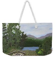 Kootenay Lake Bc Weekender Tote Bag