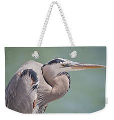 Weekender Tote Bag featuring the photograph La Garza by Steven Sparks