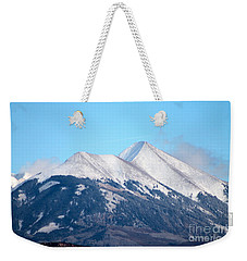 La Sal Mountains 111 Weekender Tote Bag